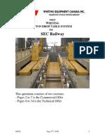 94025 125 Ton Drop Table - SEC Railway
