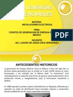 Plantas Generadoras en Mexico