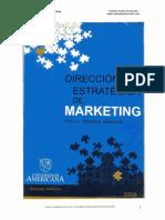 Dirección Estratégica de Marketing - Etcheverry