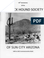 Rock Hound Society of Sun City Arizona 1963 to 2013