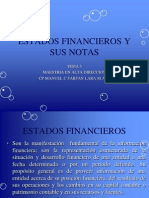 Tema 5 Estados Financieros y Sus Notas
