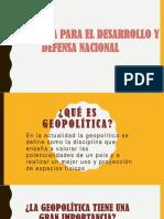 Geopolitica y Defensa Nacional22