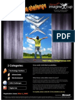 Imagine Cup 2007 Poster v21