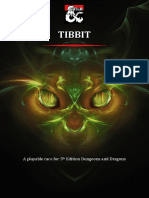 Tibbit - A Playable Race for 5th Edition