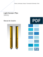 WEG Light Screen Plex Manual Do Usuario Manual Portugues Br
