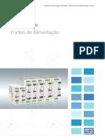 WEG Fontes de Alimentacao 50058708 Catalogo Portugues Br