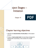 Project Stages - Initiation
