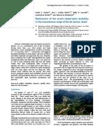 Mechanisms of the Recent Catastrophic Landslides