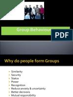 Group &Amp; Team Behaviour - (1)