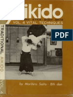 M. Saito - Traditional Aikido Vol. 4 - Vital Techniques