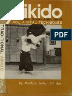 M. Saito - Traditional Aikido Vol. 4 - Vital Techniques