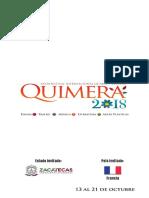 Programa Quimera 2018