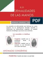 Defectos de Un Dactilograma Por Mala Operación