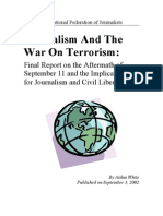 Journalism and the War on Terrorism