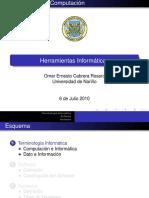 Introduccion a Las Herramientas Informaticas