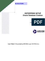 2 - Enterprise Setup (Create Db)