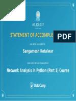 22. Network Analysis in Python