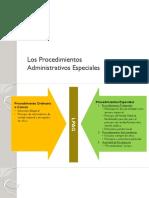 Procedimientos Especiales - Derecho Administrativo