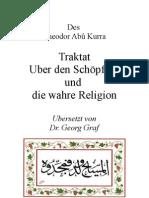 Abu Qurrah die wahre Religion