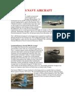 Us Navy Aircraft