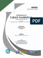 Pembahasan UN Fisika SMA MA 2018 Paket 1.pdf