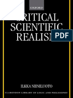 Ilkka Niiniluoto Critical Scientific Realism Clarendon Library of Logic and Philosophy-1