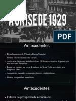 Crise 1929 Grande Depressao