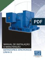 Manual de intalação e manutenção geradores síncronos linha S WEG