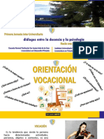 Orientacion Vocacional (Exposicion)