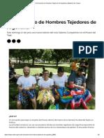 VII Encuentro de Hombres Tejedores de Argentina _ Ministerio de Cultura