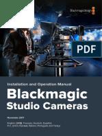 Blackmagic Studio Camera Manual