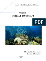 Project Threat to Oceans
