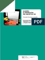 Diseño e impresión de objetos 3D