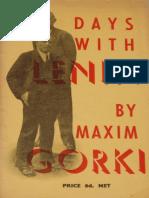 Gorky, Maxim - Days with Lenin (Martin Lawrence, 1932).pdf