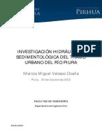 INVESTIGACIÓN HIDRÁULICA Y SEDIMENTOLÓGICA DEL TRAMO URBANO DEL RIO PIURA.pdf