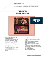 Defender User Manual