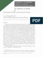 CERRI, Luis Femando - Usos Públicos Da História No Brasil Contemporaneo. Demandas Sociais e Políticas de Estado