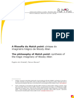 A Filosofia de Match Point_síntese Do Imaginário Trágico de Woody Allen
