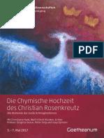 Die Chymische Hochzeit Des Christian Rosenkreutz Anno 1459