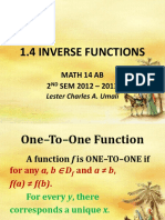 1.4 Inverse Functions.ppsx