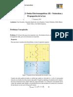 Ayudantía 2 Física General IV - Pauta