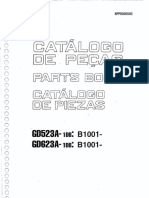 Kp Pb 000502 MANUAL DE PARTES GD623A-1