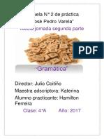 Planificacion Gramatica