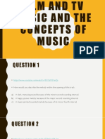 the concepts of music quiz -2