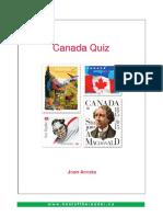 Canada Quiz Print