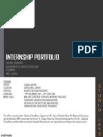 internship folio
