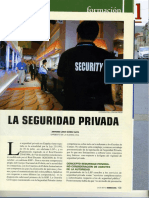 "Revista guardia civil ""El Vigilante De Seguridad"""