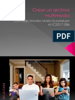 Crear Un Archivo Multimedia