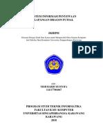 Sistem Informasi Penyewaan Lapangan Dragon Futsal