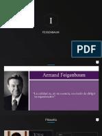 Precursores de la calidad Feigenbaum